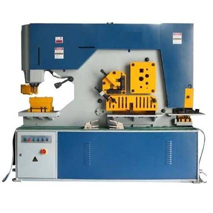 IW-140 Hydraulic Iron Worker(Punching and Shearing machine)