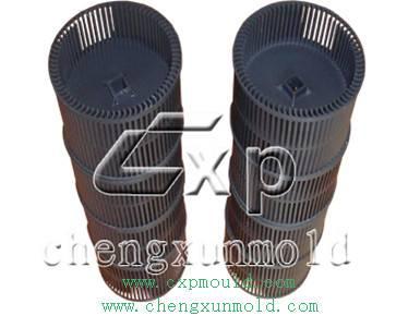 wind wheel mould/plastic impeller mould/wind leaf mould/plastic air filter mould/wheel cover mould