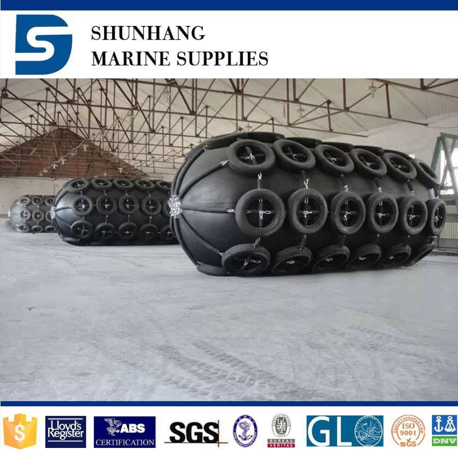 World widely use high-performance marine pneumatic boat fender