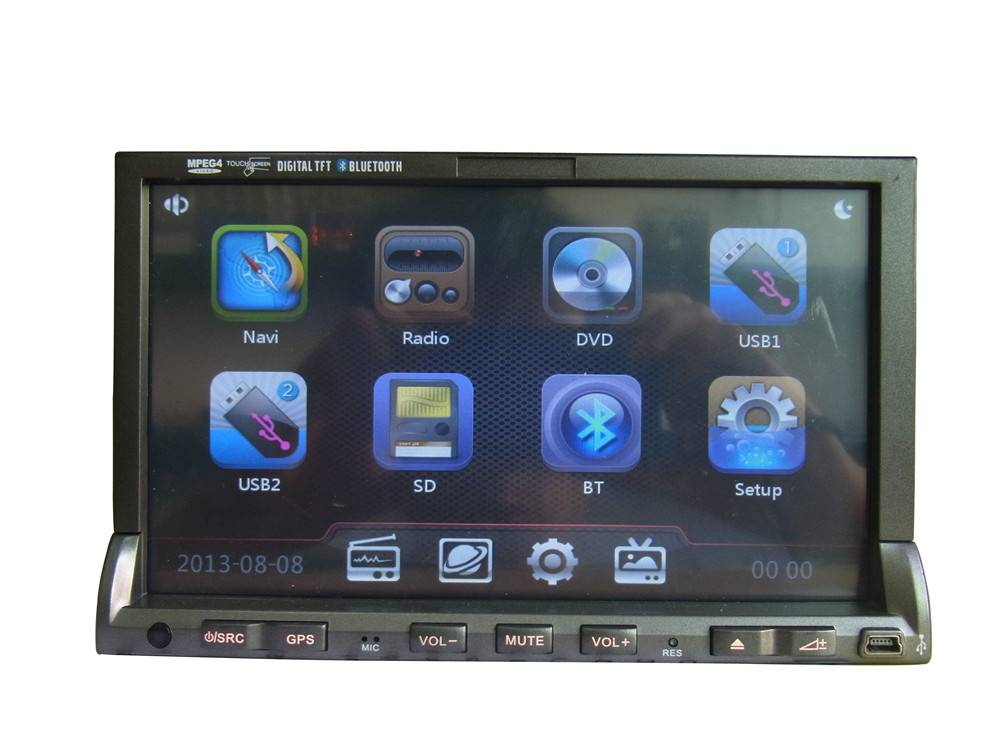 car gps navigation for Universal with 256M RAM and 800MHZ CPU DJ7019