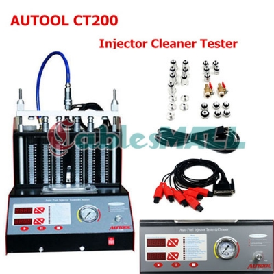 AUTOOL CT200 Petrol Ultrasonic Injector CT200 Fuel Injector Cleaner