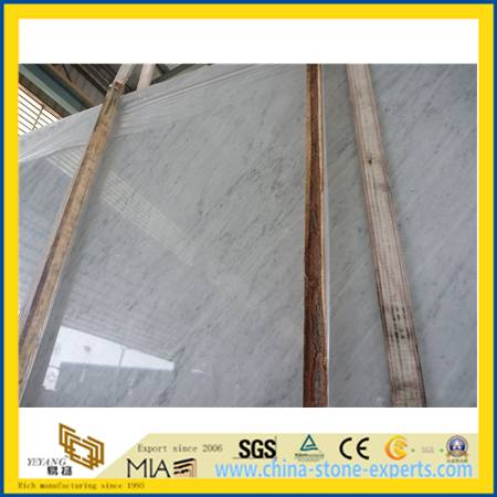 Carrara White Marble for Kitchen& Bathroom Countertops