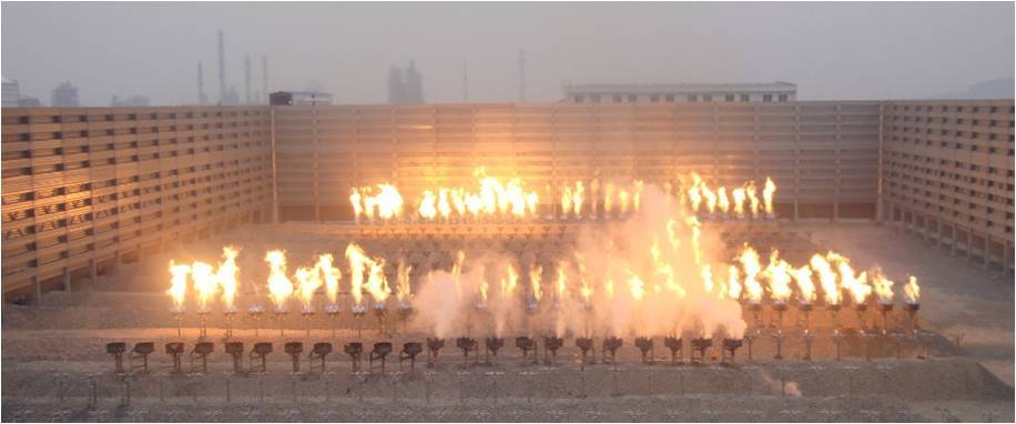 Open Ground Flare System