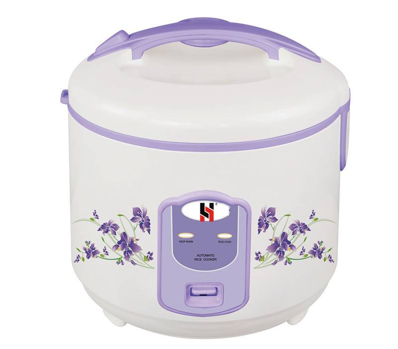 Deluxe rice cooker in one-body