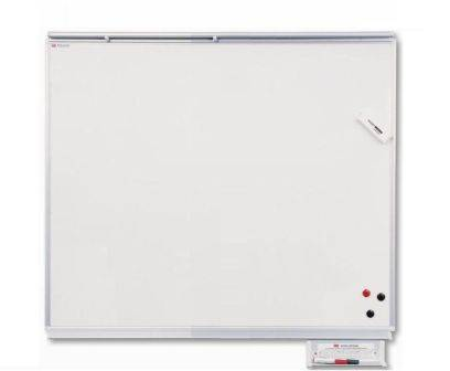 Wall-Mounted Ceramic Steel Writing Boards with Map Hanger