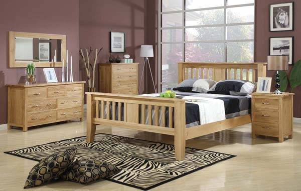 American Solid Oak Furniture Set
