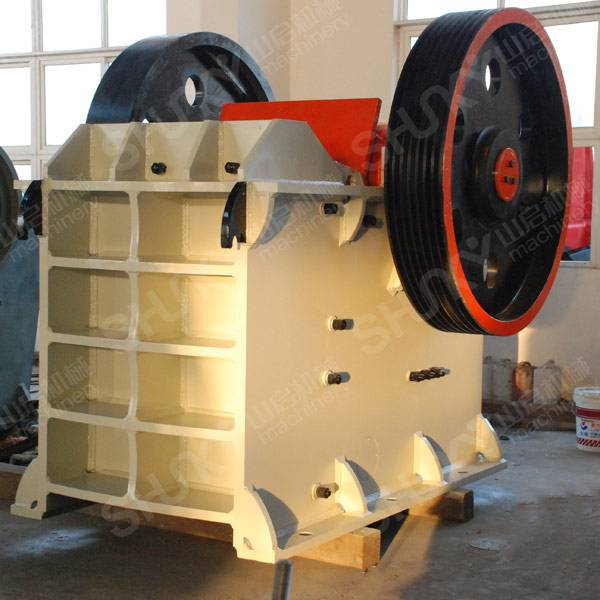 Made in china granite jaw crusher