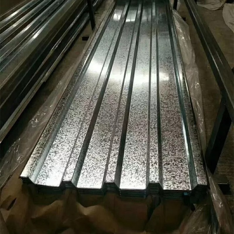 Gold Supplier 665mm Width Galvanised Box Profiled Roofing Sheet