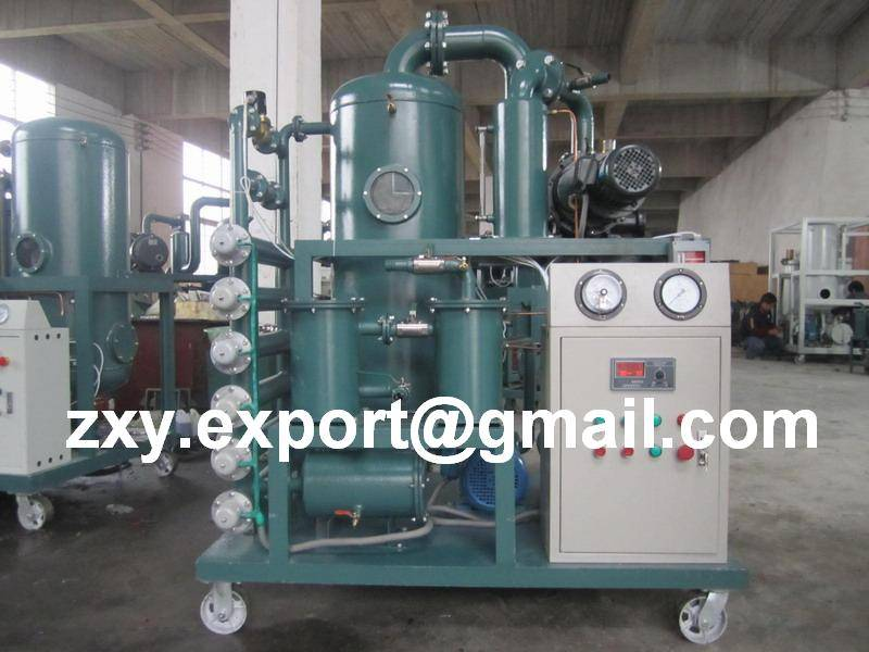 Double-Stage High Vacuum Transformer Oil Treatment, Oil Filtering, Oil Purification Machine