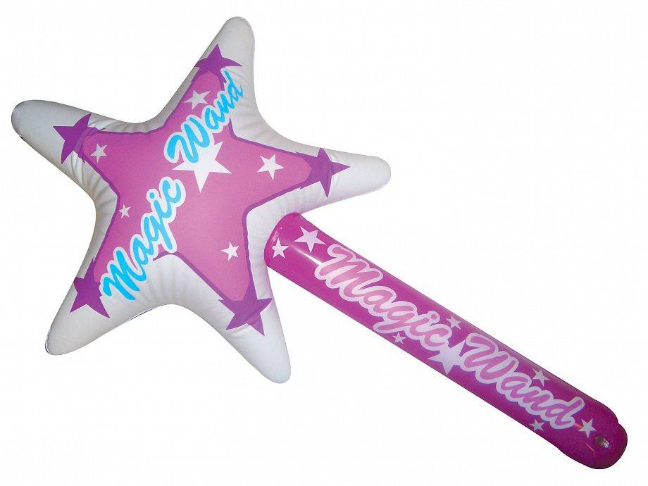 Inflatable stick toy for kids