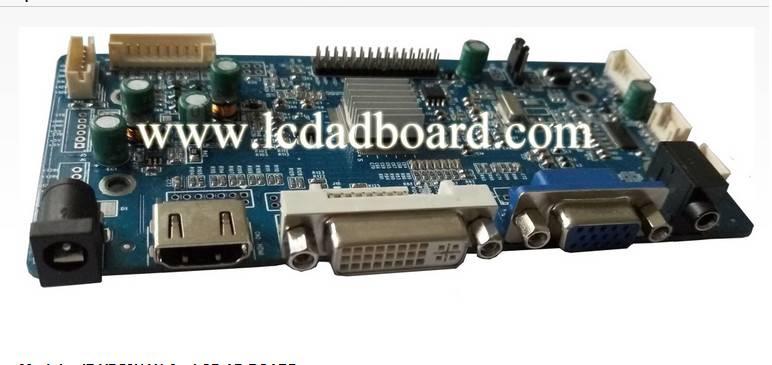 hdmi lcd ad board--JZ-VDH5858