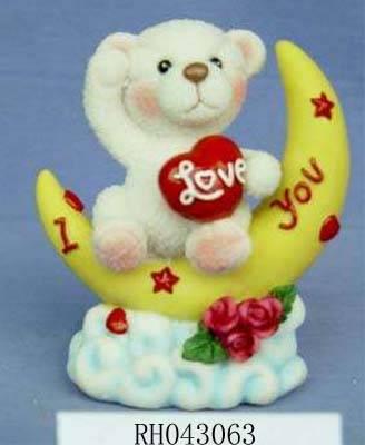 Polyresin Valentines gift