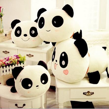 Tummy bear plush toys cute panda pillow doll hug bear DS-PD002