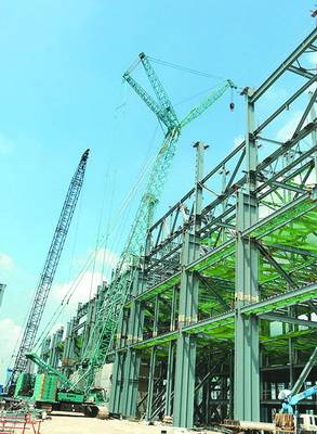 Steel Structure for Korea Steel (HX121404)