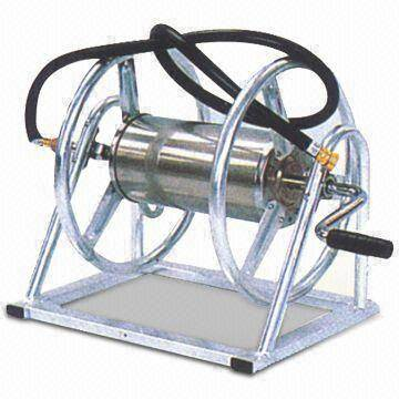 Garden Hose Reel with Pb-free and UV-resistant Powder Coating, Measures 800 x 410 x 455mm