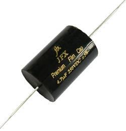 JFX - Premium Metallized Polypropylene Film Capacitors - Axial