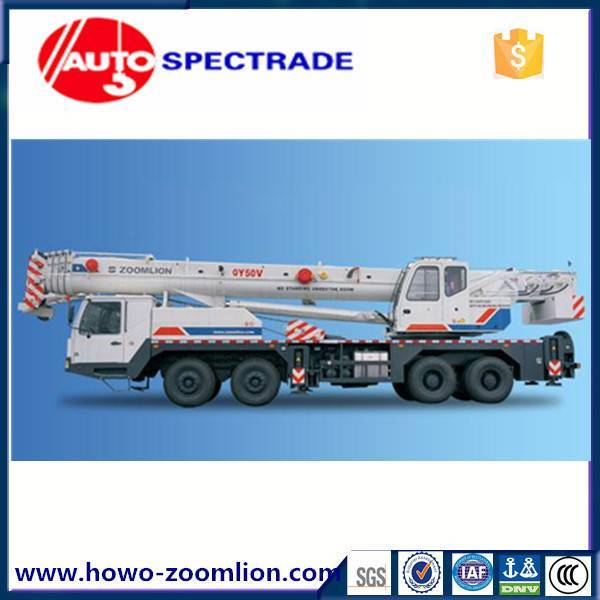 50 ton truck crane Zoomlion QY50