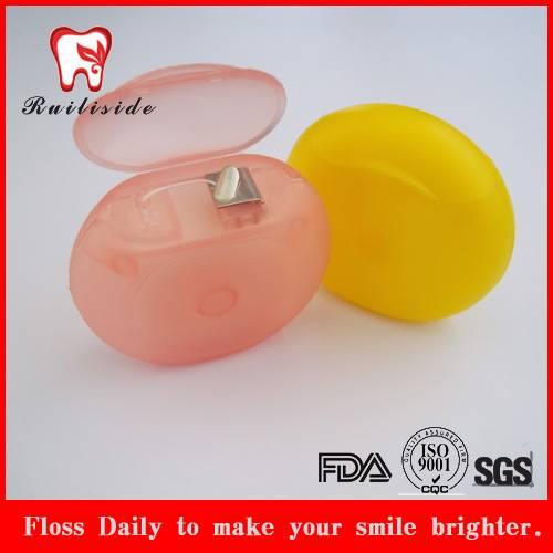circle shape dental floss