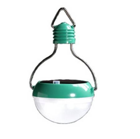 LED rechargeable solar light bulb