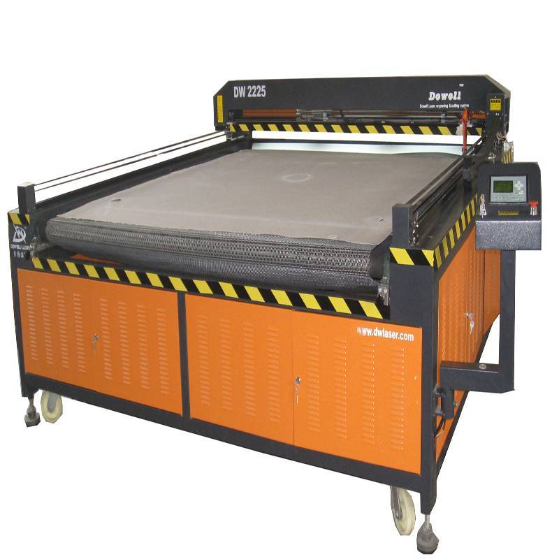 DW textile leather laser machine