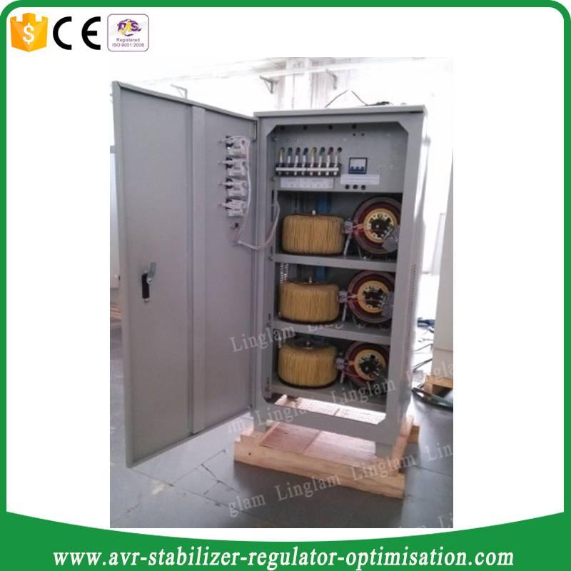 svc 40kva three phase automatic voltage regulator