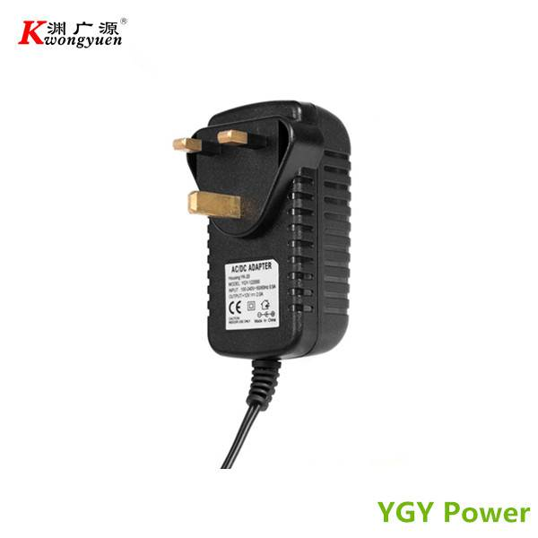 AC DC Adapter 12V 2A for CCTV Camera with CE Certified