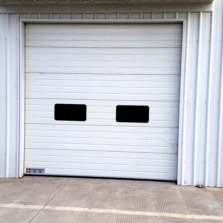 2020 China Factory Electric Vertical Sliding back Sectional Door