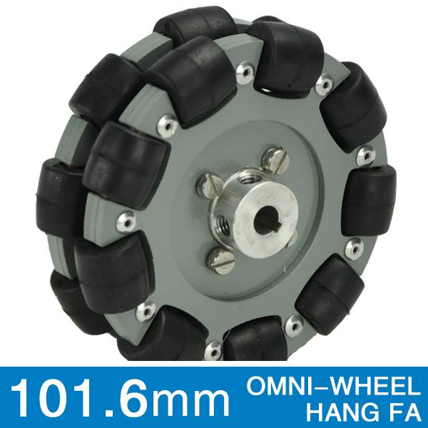 101.6mm double aluminum omni wheel QL-10