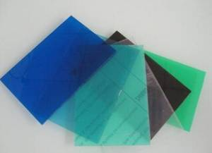 Transparent PVC Sheet Available in Many Colors