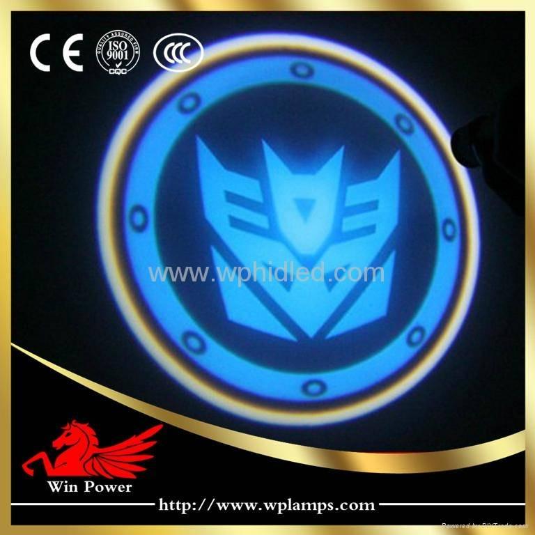 Waterproof Transformer Laser Car Door Logo Light