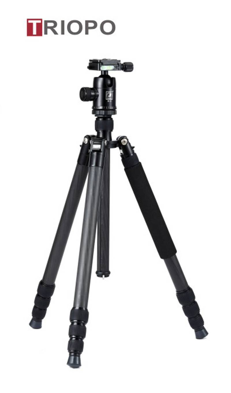 TRIOPO GT-2804X8.C+B-2 tripod kit ,camera tripod ,professional carbon fiber tripod and professional