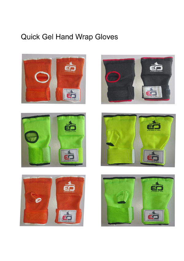 Gel Gloves,Quick Wrap Gel Gloves,Hand Protector,Martial Arts Gloves,Inner Gloves,Gel Gloves