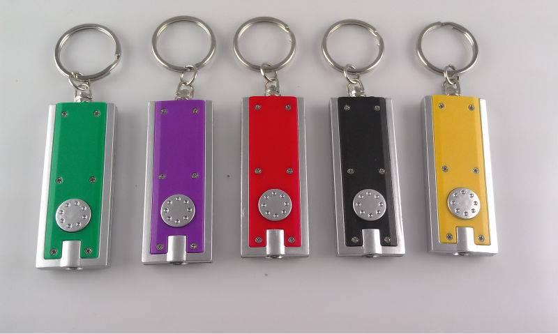 Promotional LED Keychain/LED Flashlight Key Chain/LED Keylight