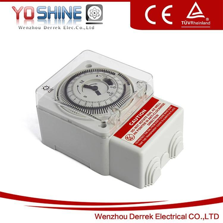 Mechanical 24 Hours Time Switch Timer Switch