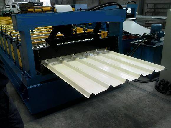 Traditional Long-span Aluminium Roofing Sheet Roll-forming Machine For Sale