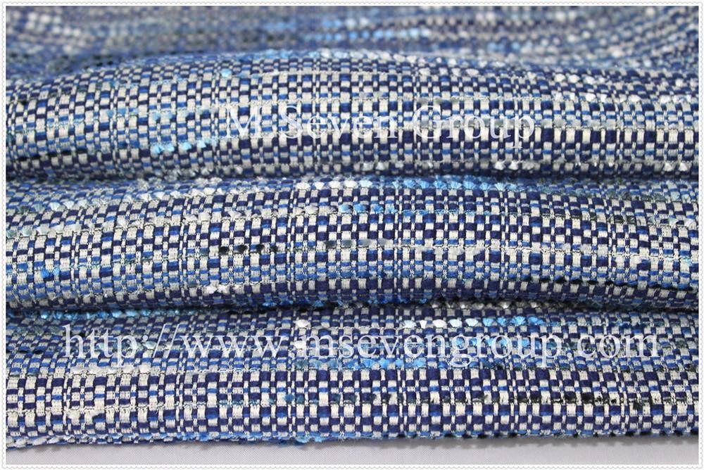 Tweed fabric for ladies suit