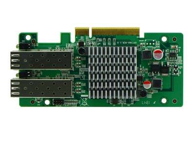 Intel 82580DB Based PCI-E x8 1G Optical Card, 2SFP+ Ports, Firewall Hardware Accessories