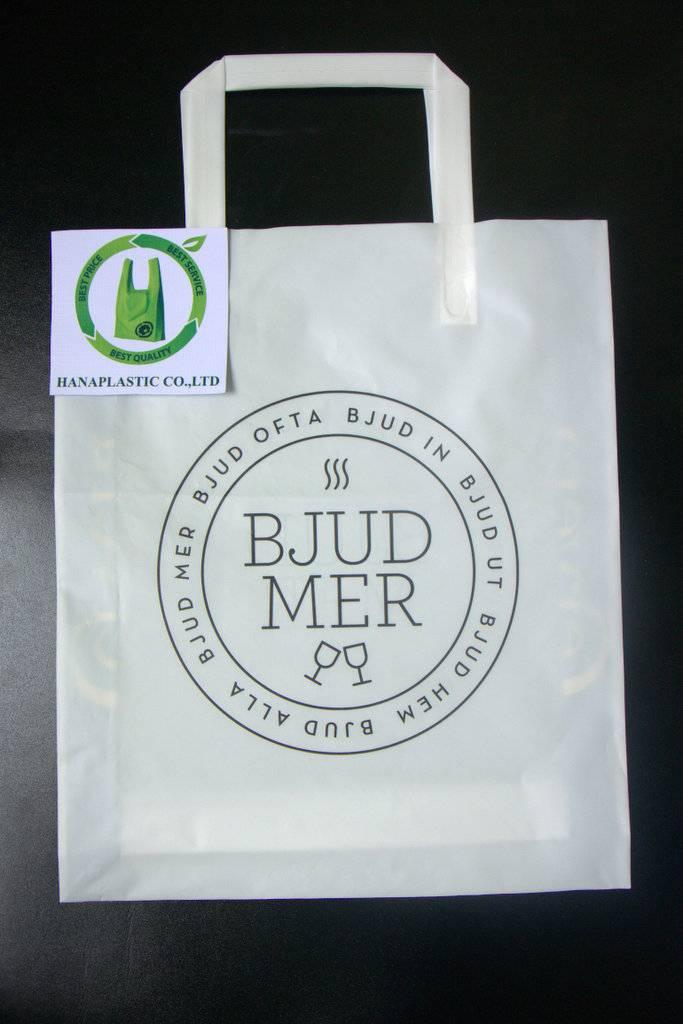 Tri fold Plastic Bag