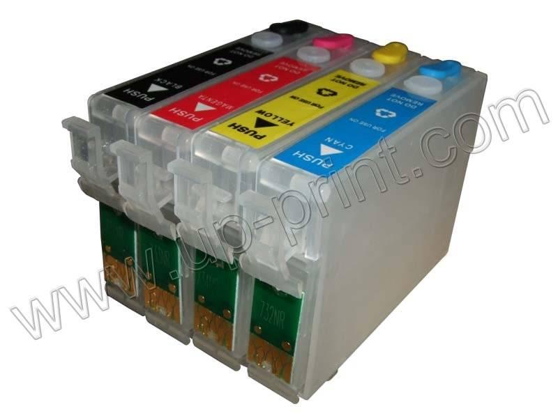Refillable Ink Cartridges for TX100/TX109/TX200/TX209/TX400/TX409/T400W/TX600W