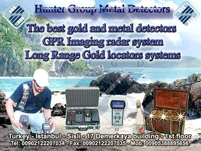 Modern and developed systems for gold and metal detection