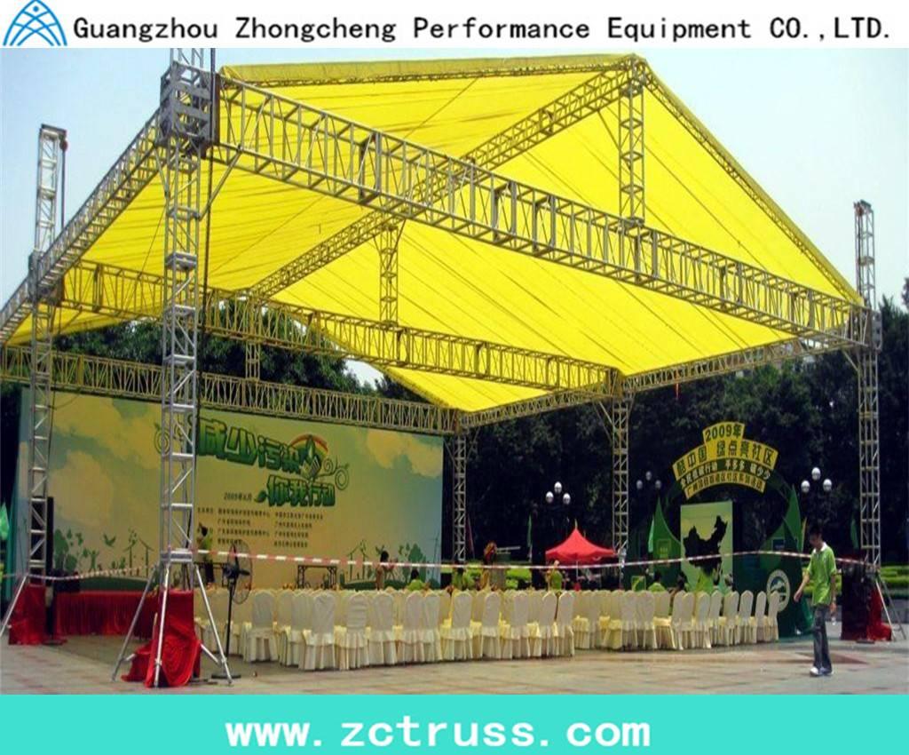 aluminum lighting performance exhibition screw truss(400mm600mm)