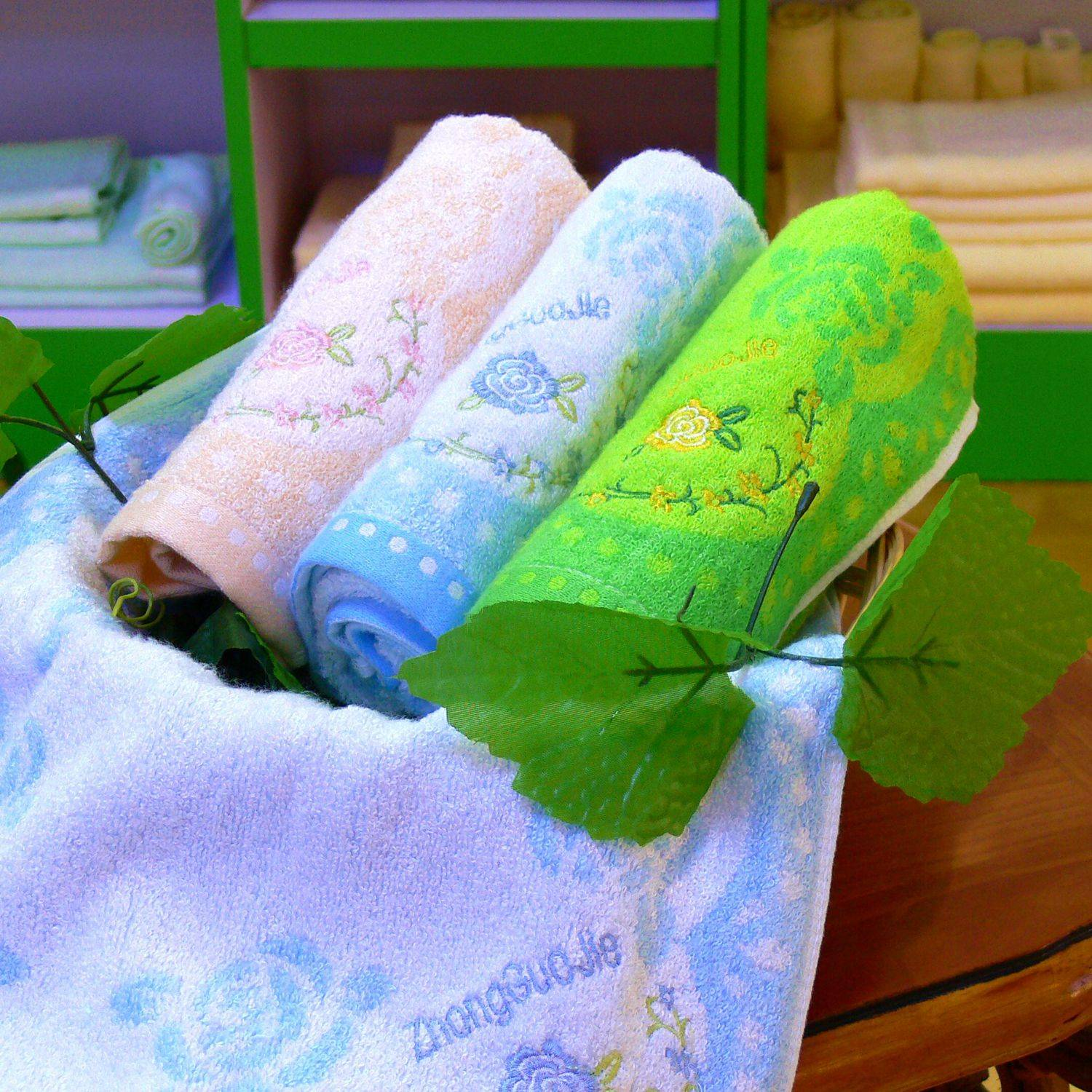 Soft and comfortable bamboo towel