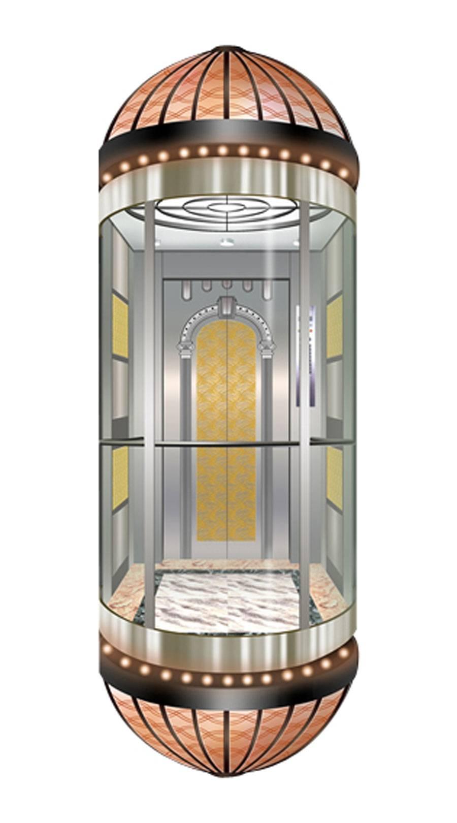 Sightseeing / Panoramic Elevator HM-518