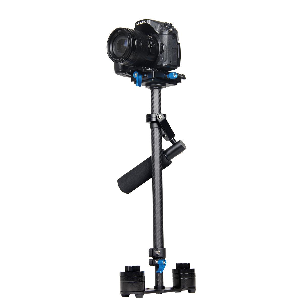 2015 YELANGU Filming Equipment Carbon Fiber Holder Dslr Stabilizer Steadicam For 5D2, 5D3