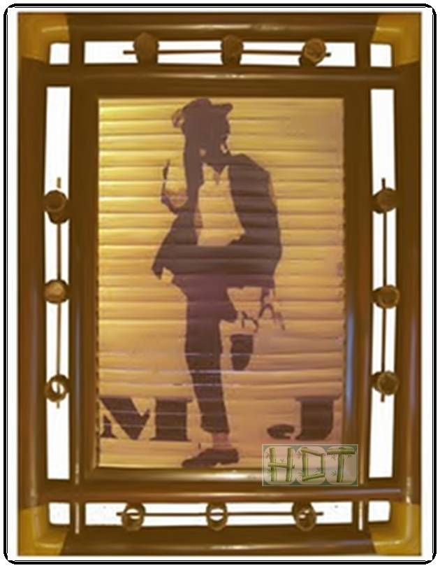 Shaving Smoked Bamboo Painting Portraits (Michael Jackson Artwork)_ This Is Not Painted