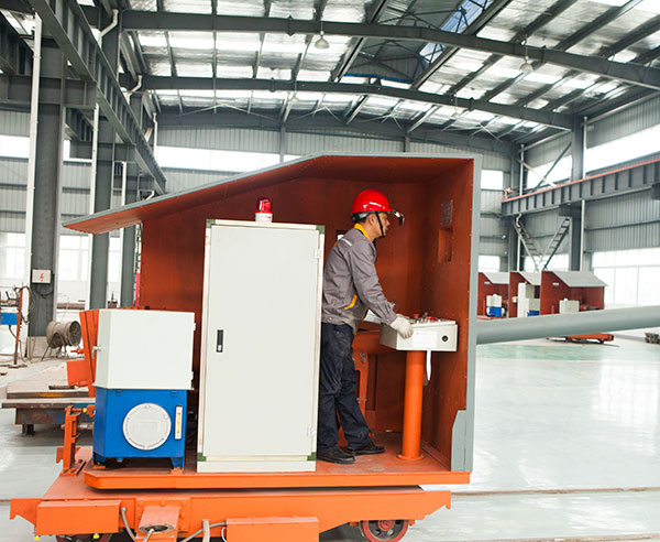 Metallurgy Automatic Refractory Ladle Slag Dart Dispatching Machine For Steelmaking