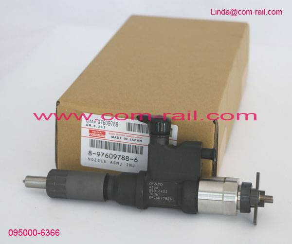 095000-6366,8976097886 denso common rail injector