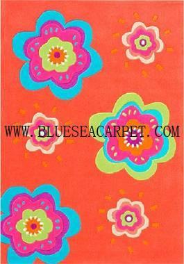 handtuffted acylic kids rugs