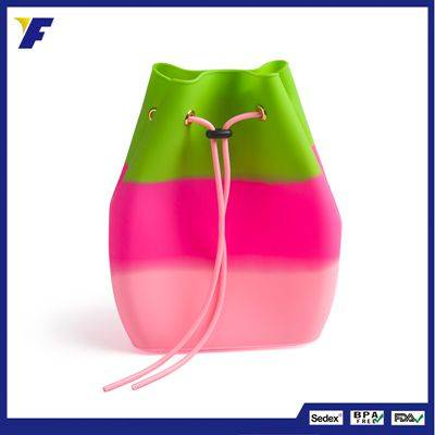 Wholesale brand name carrier silicone backpack for women