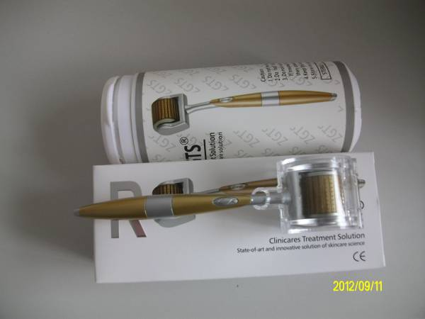 ZGTS 192 needles titanium derma roller for pigment removal beauty micro derma roller